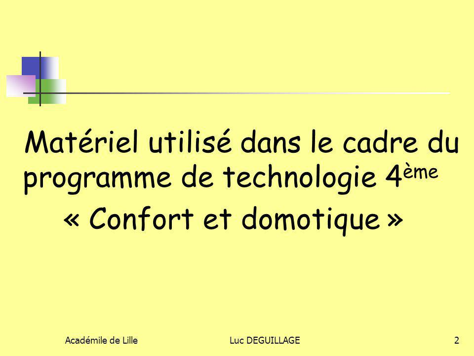 « Confort et domotique »