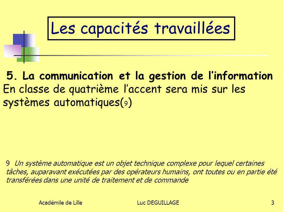 5. La communication et la gestion de l'information
