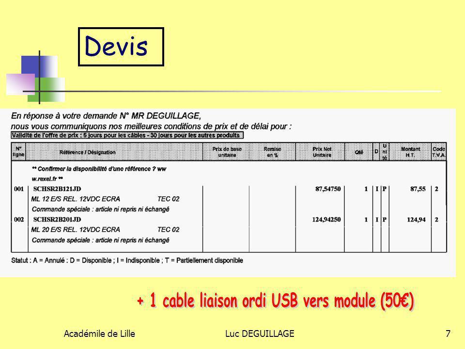+ 1 cable liaison ordi USB vers module (50€)