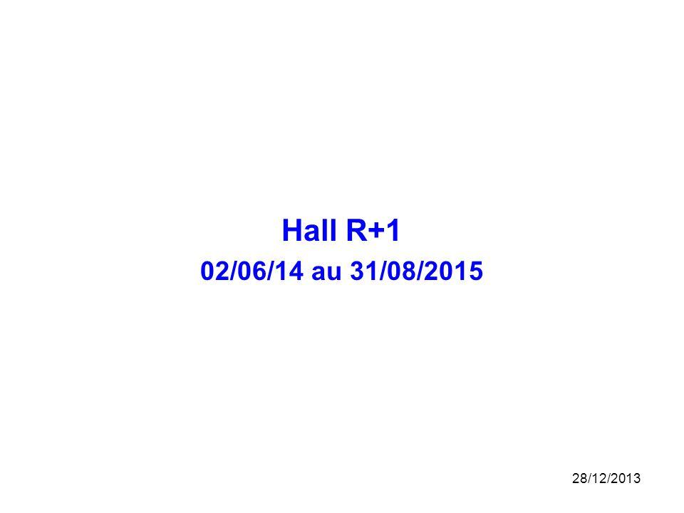 Hall R+1 02/06/14 au 31/08/2015 25/03/2017