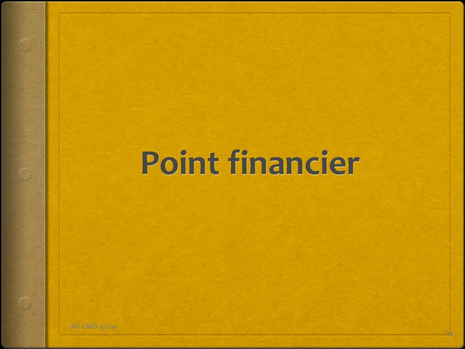 Point financier AG LMD 9/2/10