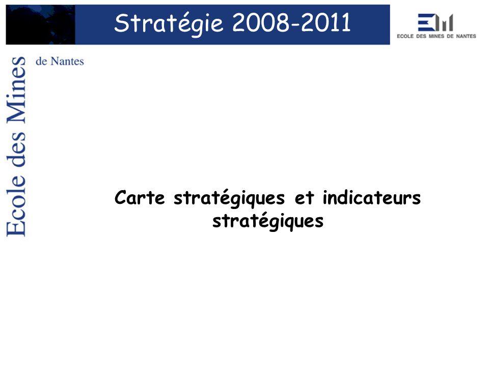 Carte stratégiques et indicateurs stratégiques