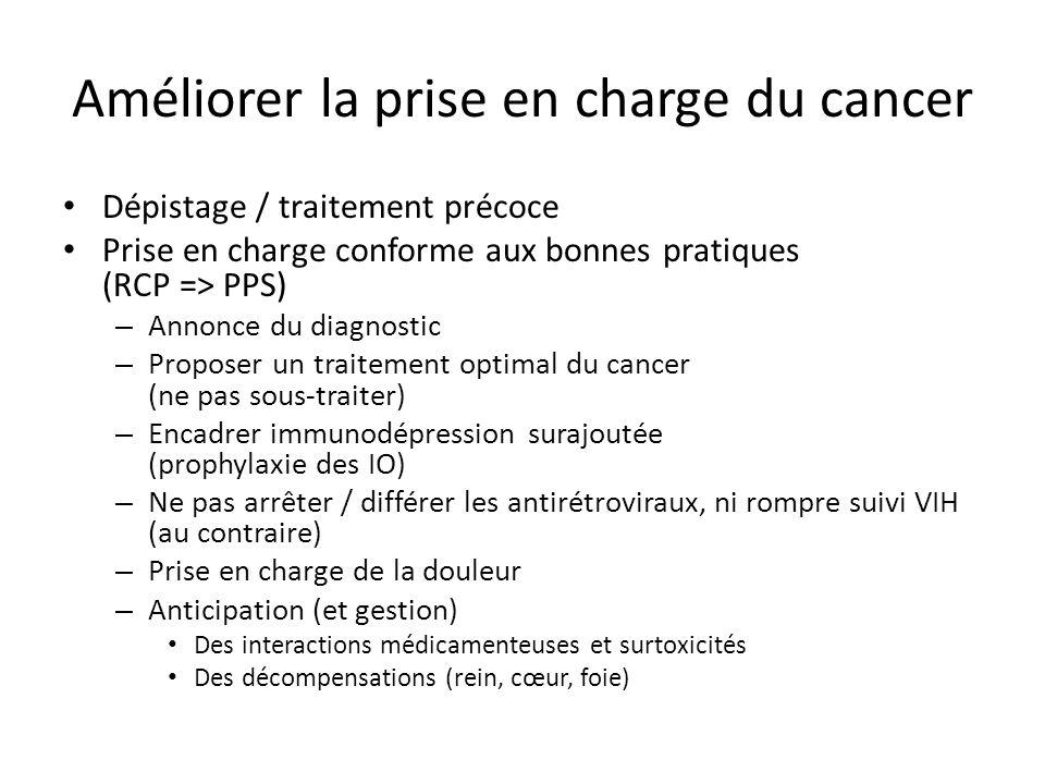 Améliorer la prise en charge du cancer