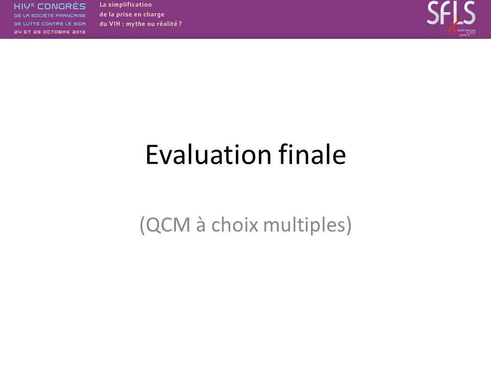 (QCM à choix multiples)