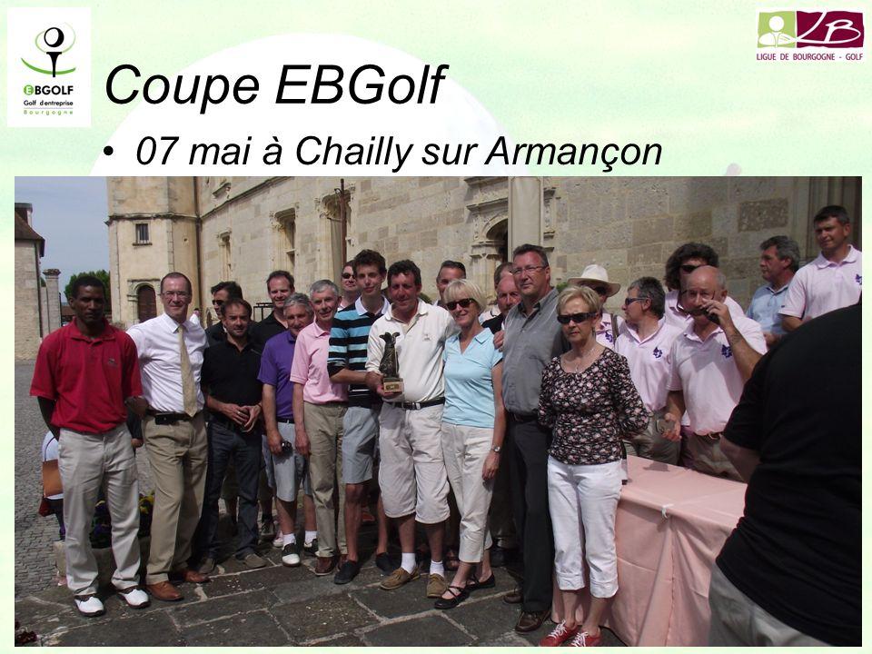 Coupe EBGolf 07 mai à Chailly sur Armançon SNCF