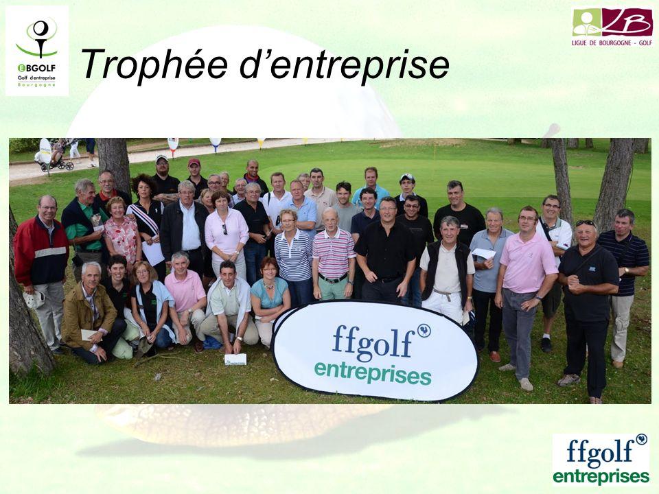Trophée d'entreprise 120 joueurs Dijon Bourgogne le 18 juin