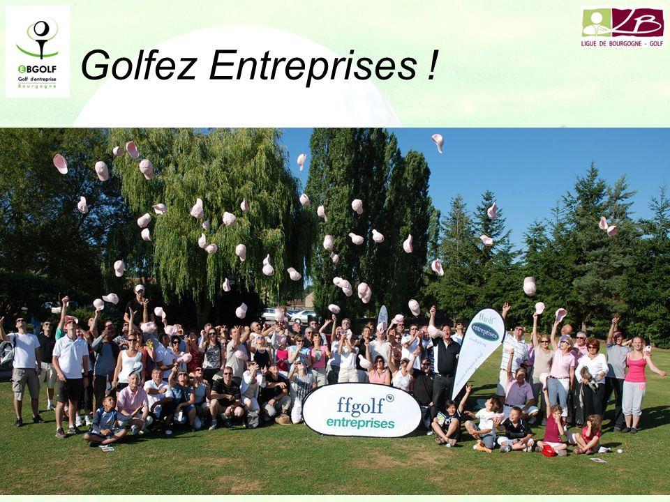 Golfez Entreprises ! 90 participants le 2 juillet à Pré Lamy