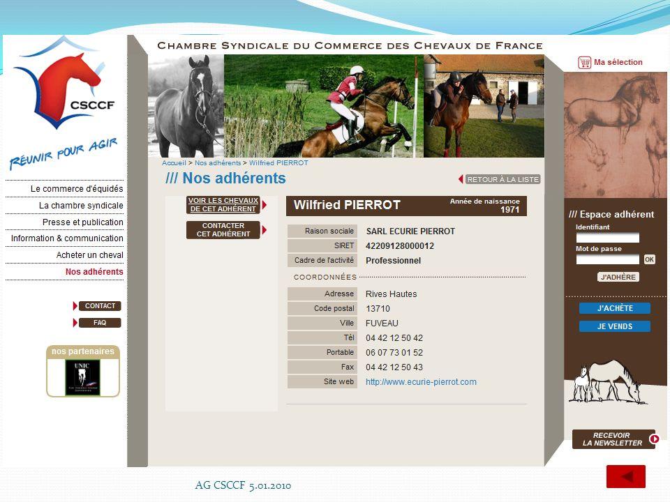 AG CSCCF 5.01.2010
