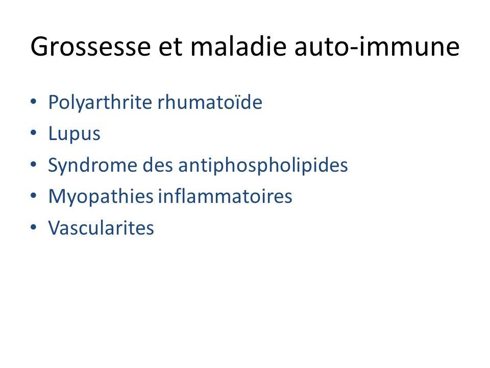 Grossesse et maladie auto-immune