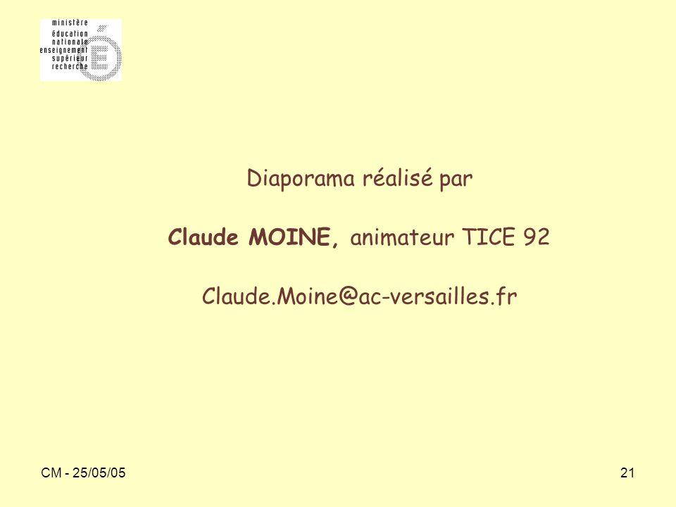Claude MOINE, animateur TICE 92