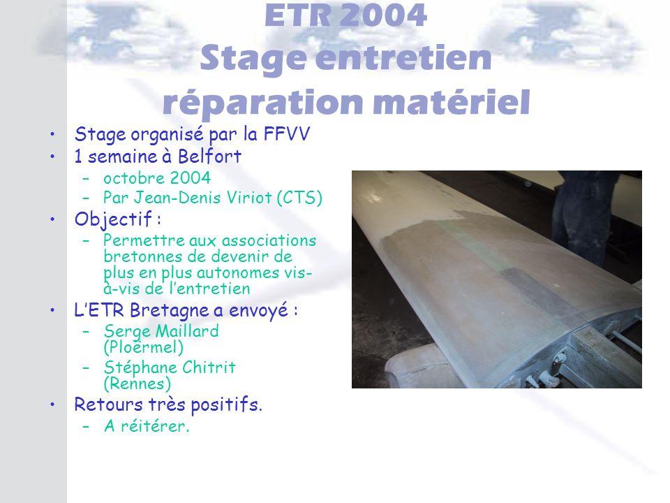ETR 2004 Stage entretien réparation matériel