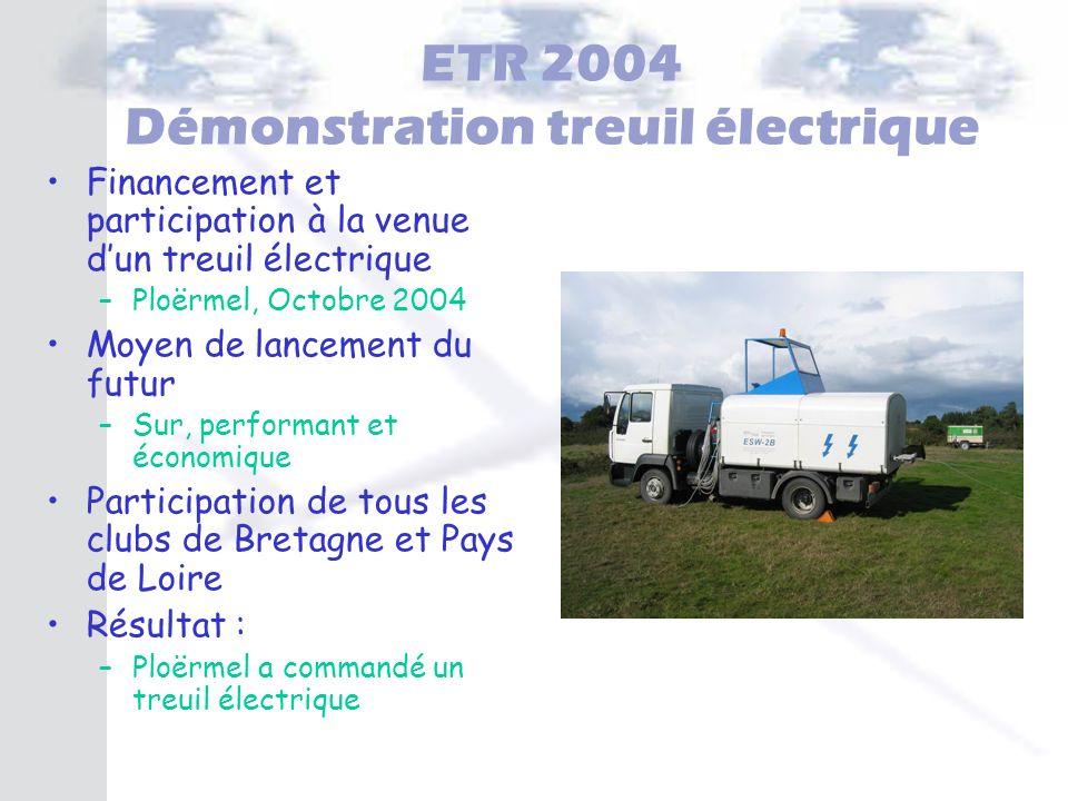 ETR 2004 Démonstration treuil électrique