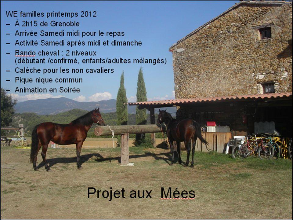 Projet aux Mées WE familles printemps 2012 À 2h15 de Grenoble