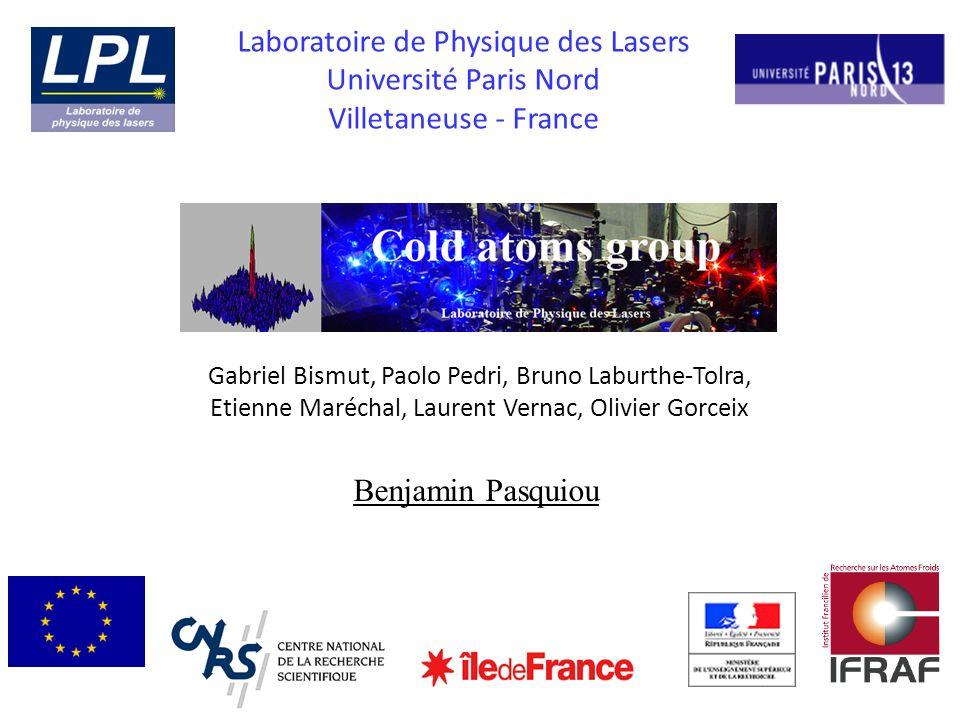 Laboratoire de Physique des Lasers