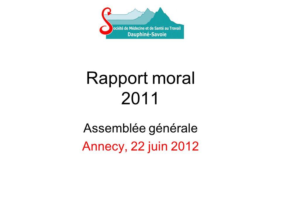 Assemblée générale Annecy, 22 juin 2012