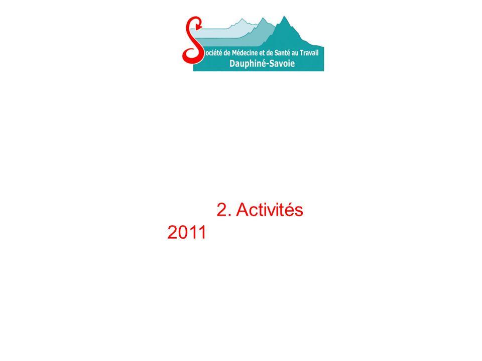 2. Activités 2011