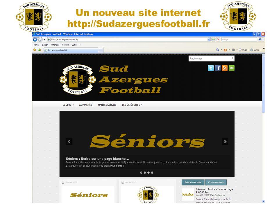 Un nouveau site internet