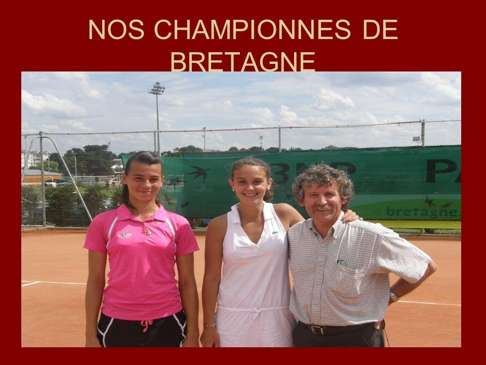 NOS CHAMPIONNES DE BRETAGNE