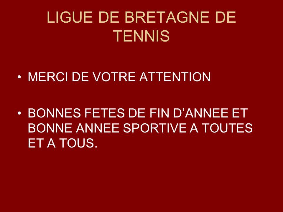 LIGUE DE BRETAGNE DE TENNIS