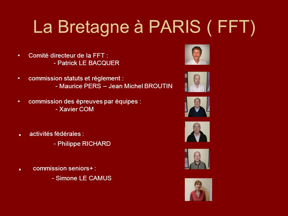 La Bretagne à PARIS ( FFT)