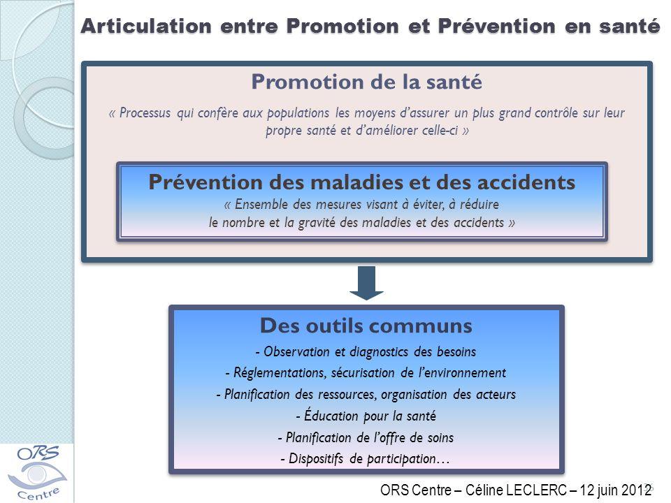 Prévention des maladies et des accidents