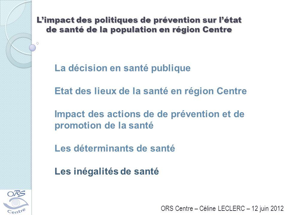 ORS Centre – Céline LECLERC – 12 juin 2012
