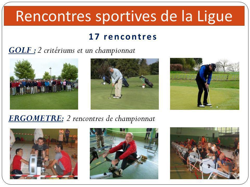 Rencontres sportives de la Ligue