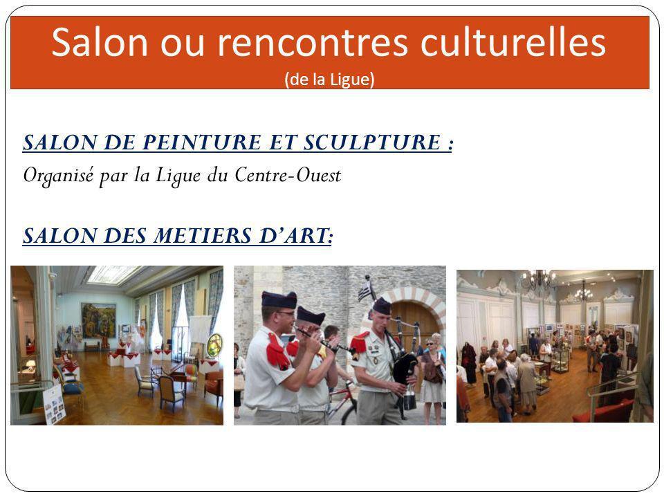 Salon ou rencontres culturelles