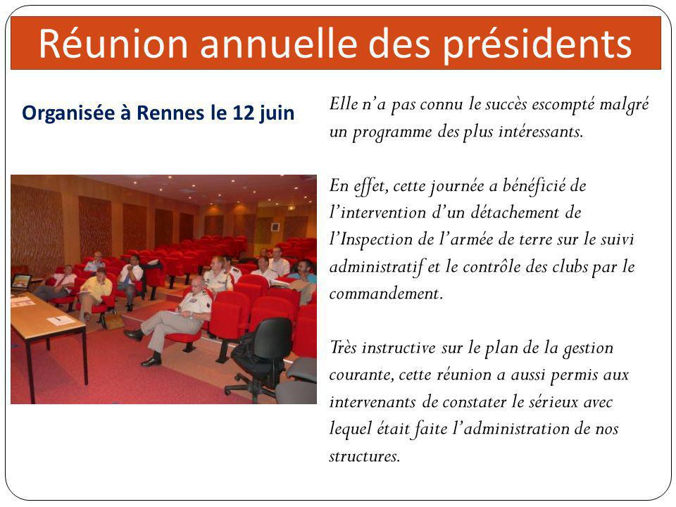 Organisée à Rennes le 12 juin