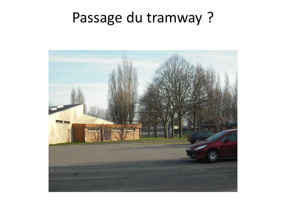 Passage du tramway