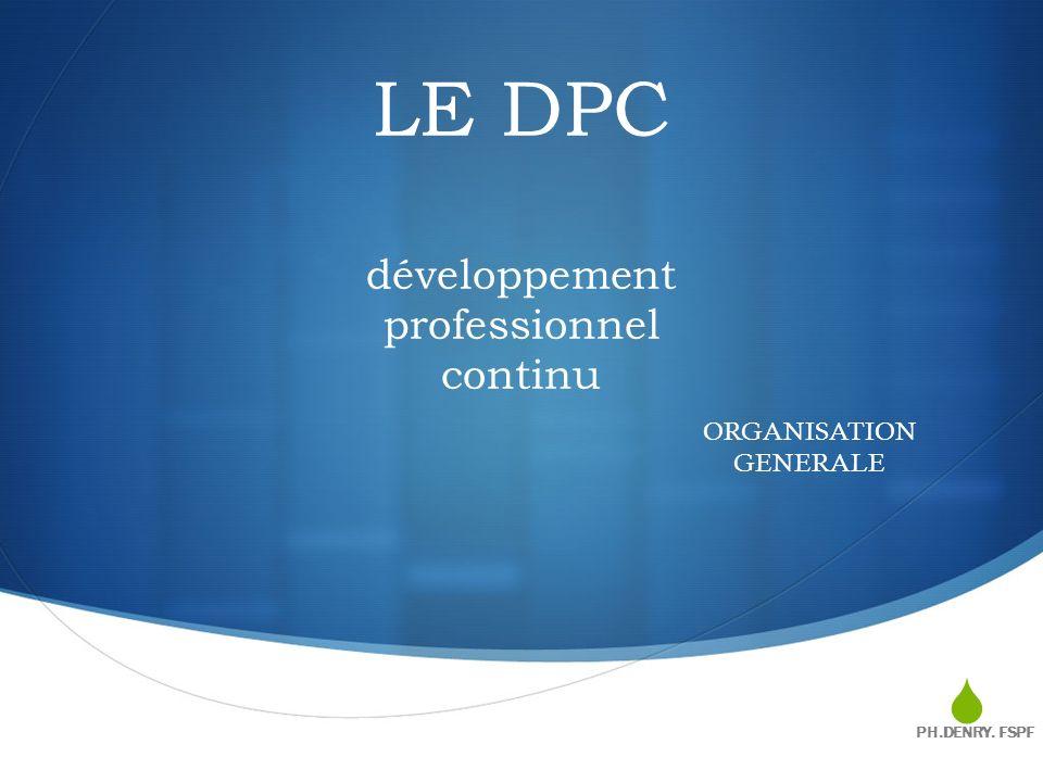 LE DPC développement professionnel continu