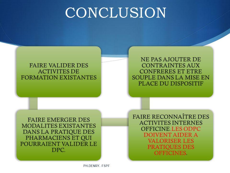 FAIRE VALIDER DES ACTIVITES DE FORMATION EXISTANTES