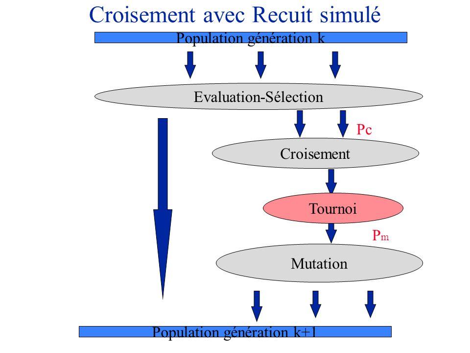 Croisement avec Recuit simulé