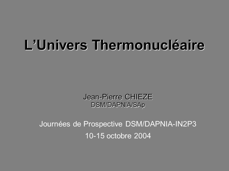 L'Univers Thermonucléaire