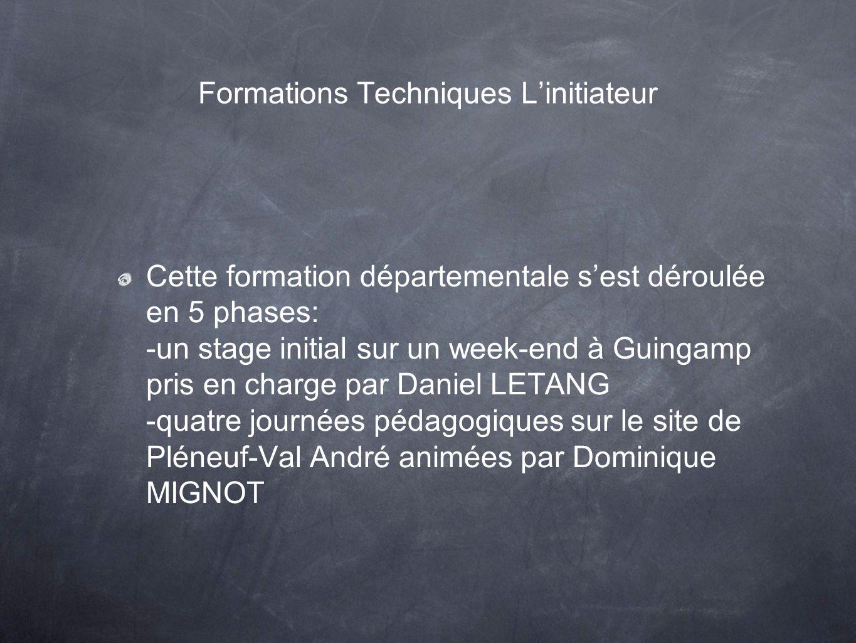 Formations Techniques L'initiateur