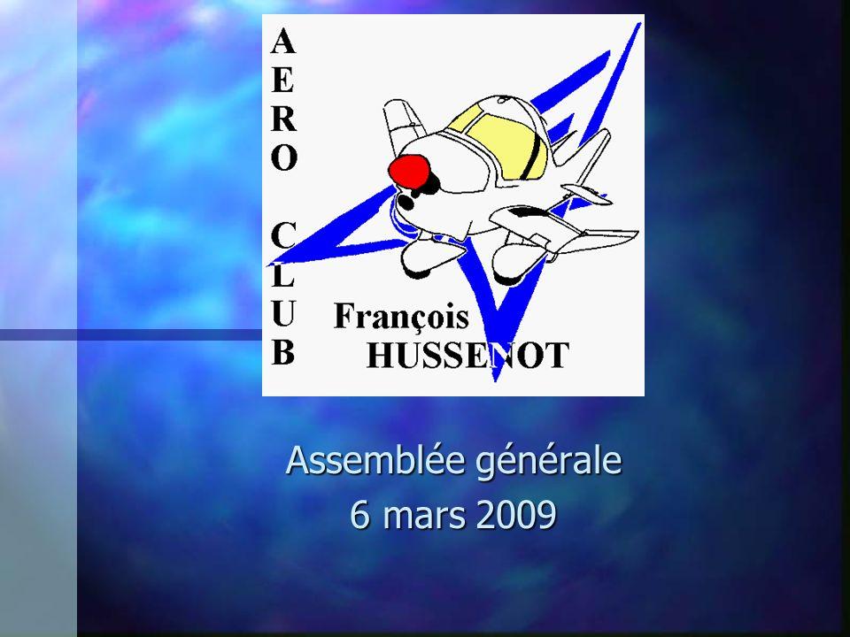Assemblée générale 6 mars 2009