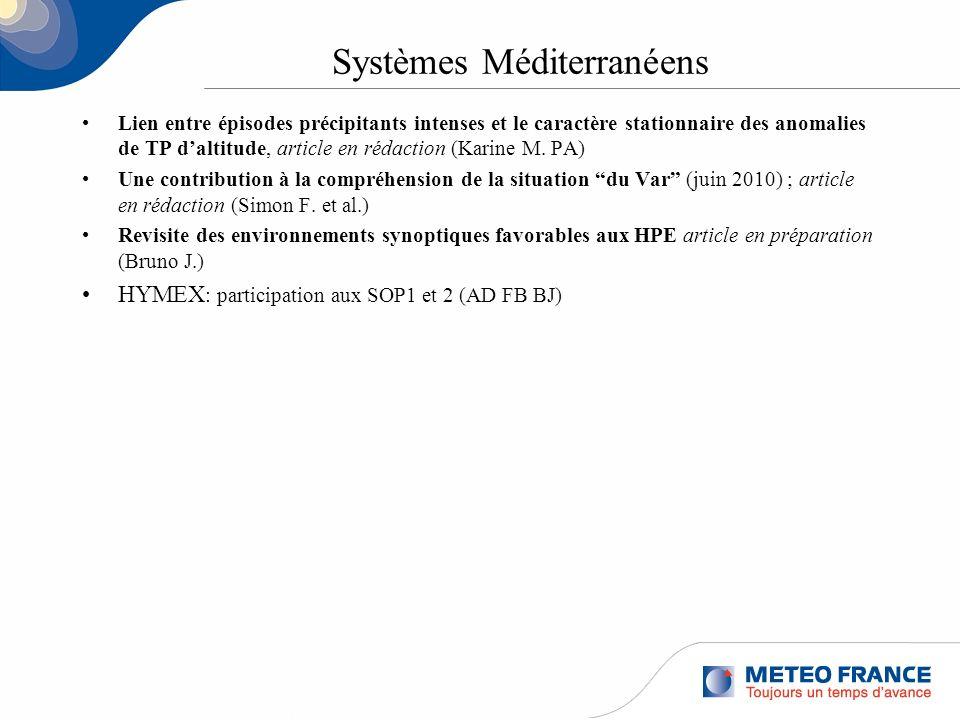 Systèmes Méditerranéens