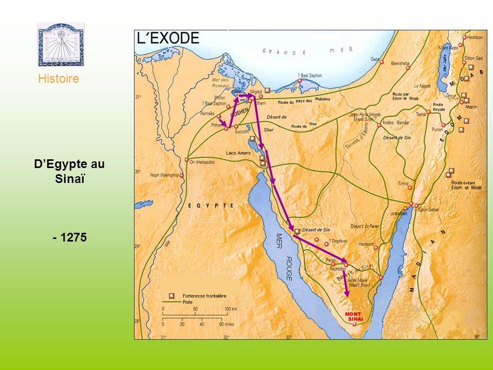 Histoire D'Egypte au Sinaï - 1275