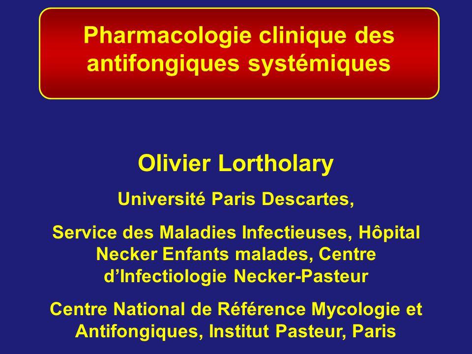 Pharmacologie clinique des antifongiques systémiques