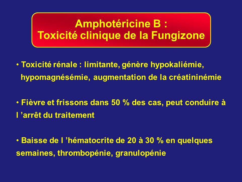 Toxicité clinique de la Fungizone