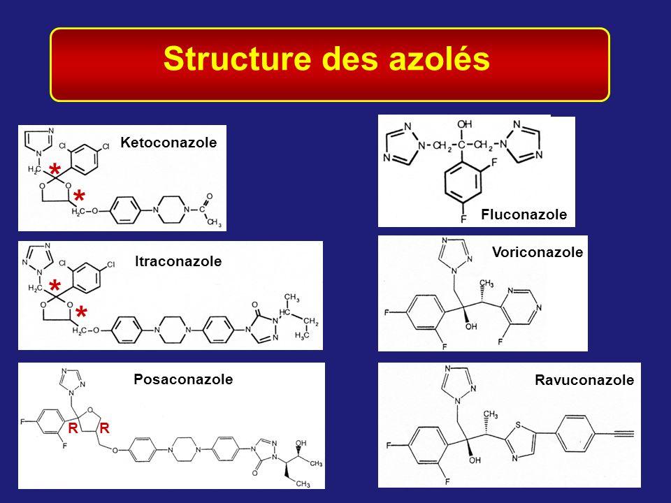 Structure des azolés * * * *