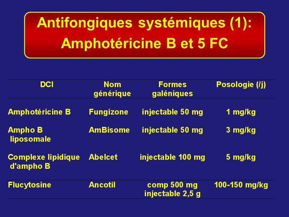 Antifongiques systémiques (1):