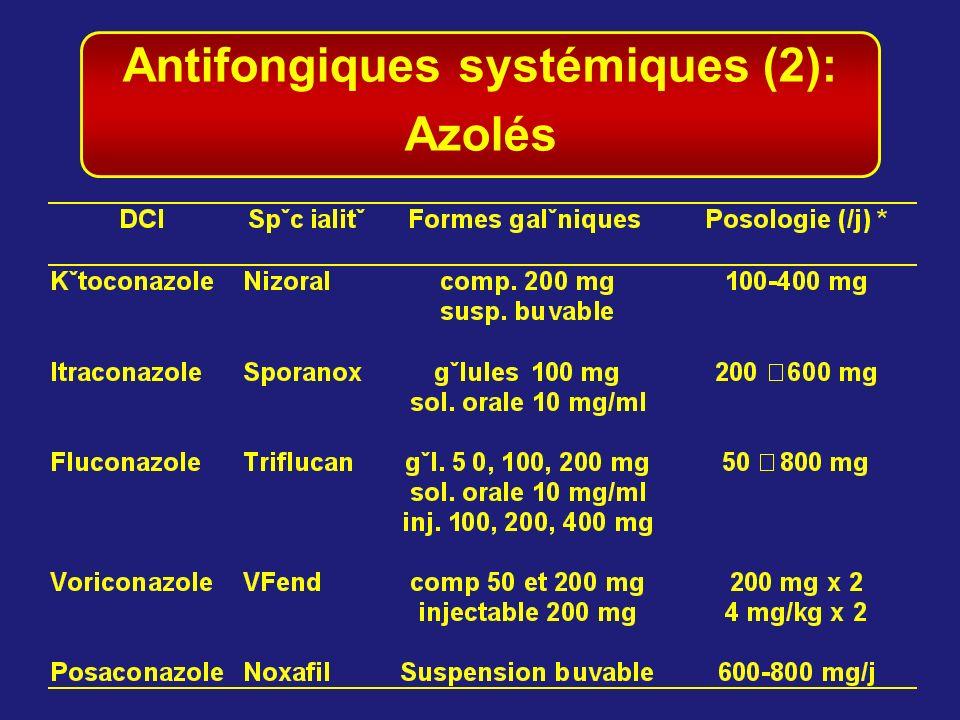 Antifongiques systémiques (2):