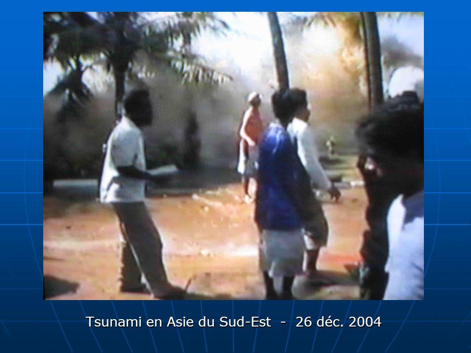 Tsunami en Asie du Sud-Est - 26 déc. 2004