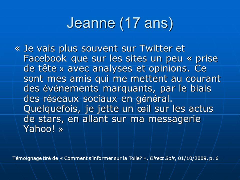 Jeanne (17 ans)