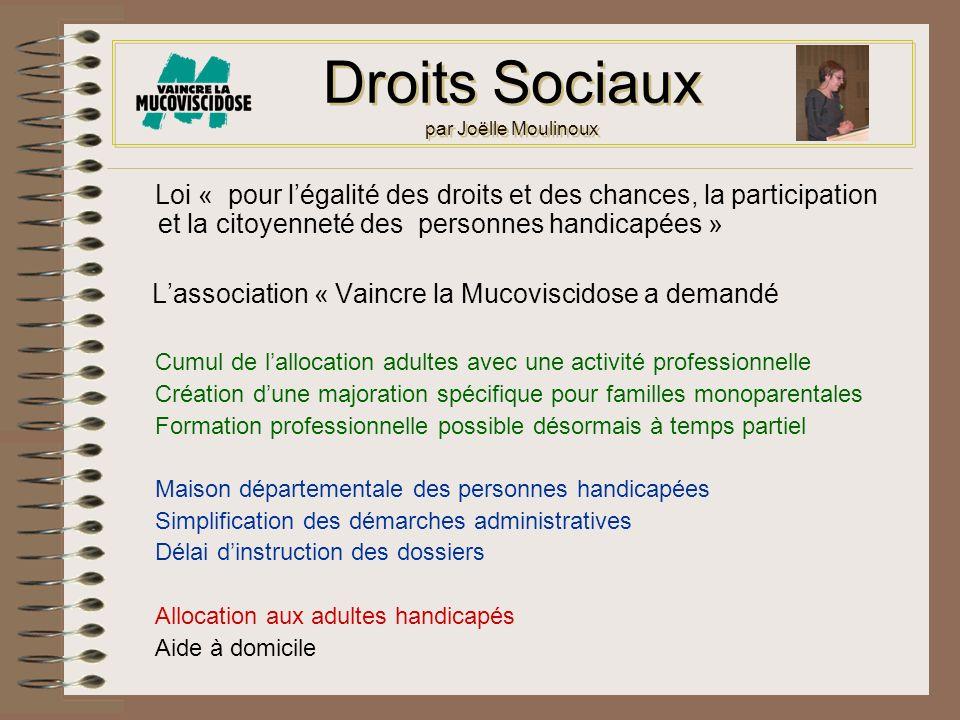 Droits Sociaux par Joëlle Moulinoux