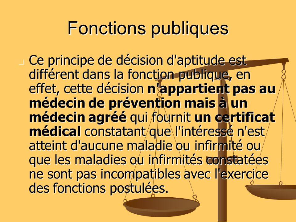 Fonctions publiques