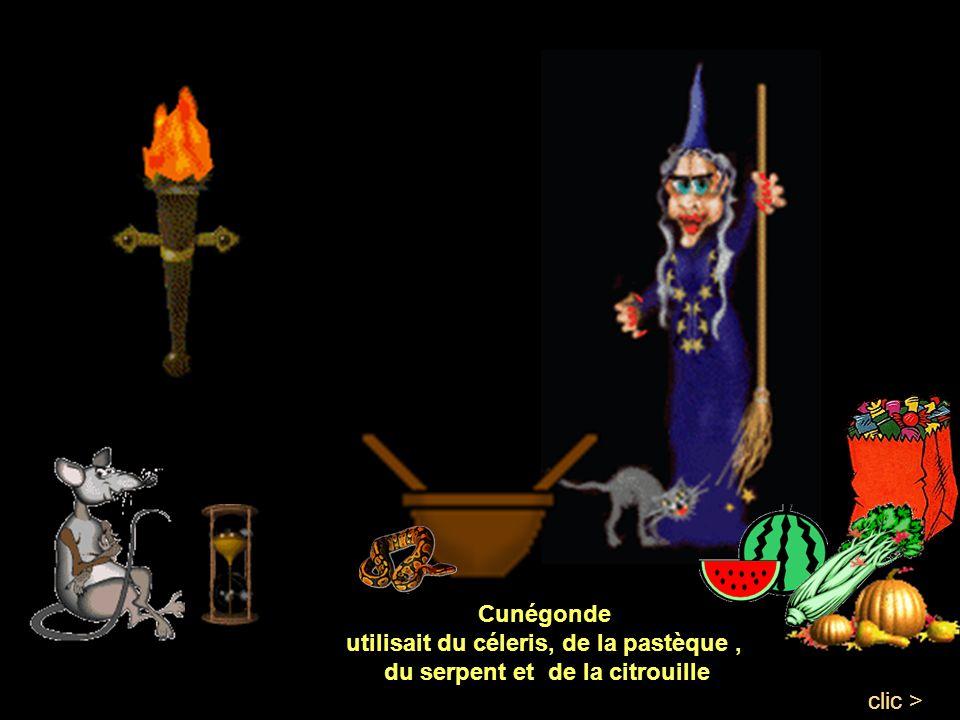 utilisait du céleris, de la pastèque , du serpent et de la citrouille