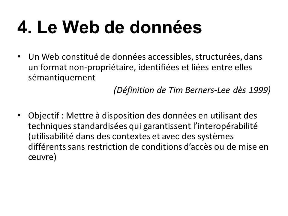 4. Le Web de données