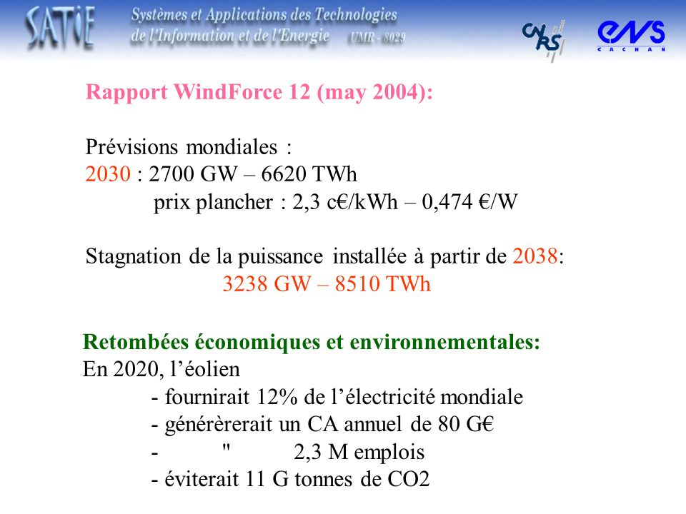 Rapport WindForce 12 (may 2004):